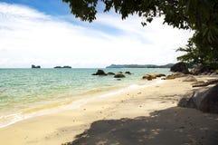 Praia malaia Imagem de Stock