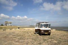 Praia maré em Krabbendijke fotos de stock
