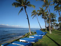 Praia Maui de Kaanapali Imagens de Stock
