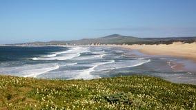 Praia de Boknes Fotografia de Stock Royalty Free