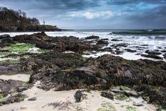 A praia na cabeça velha na Irlanda ocidental imagens de stock royalty free