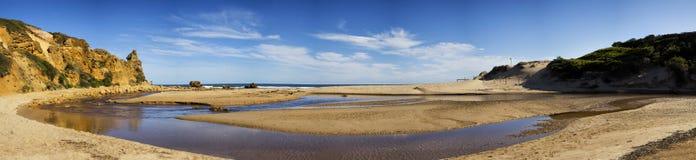 Praia na entrada de Alreys, Austrália imagens de stock royalty free