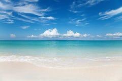 Praia na ilha de Bantayan, Filipinas Imagem de Stock