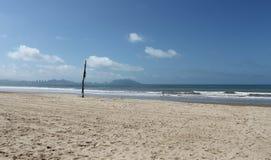 Praia na ilha de Hainan Fotografia de Stock Royalty Free
