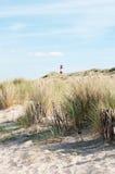 Praia na ilha do sylt Fotografia de Stock