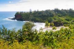 Praia na ilha Estados Unidos do kawaii de Havaí do verão Imagens de Stock