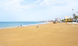 Praia na rota, Spain Imagens de Stock Royalty Free