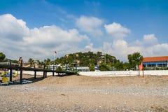 Praia na vila de Camyuva Fotos de Stock Royalty Free