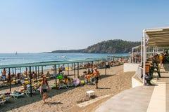 Praia na vila de Camyuva Imagens de Stock Royalty Free
