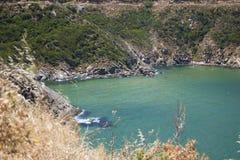 Praia natural Imagens de Stock