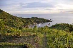 Praia natural fotografia de stock