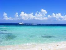 A praia anônimo Imagens de Stock