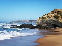 Praia no Alentejo Imagem de Stock