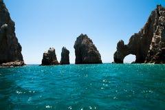 Praia no cabo San Lucas Imagem de Stock Royalty Free