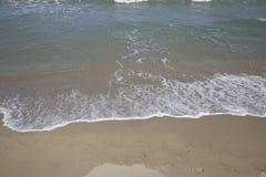 Praia no campomarino Fotografia de Stock Royalty Free