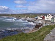 Praia no condado Clare Imagens de Stock