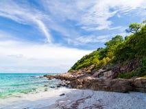 Praia no console de Samed, Tailândia Imagens de Stock