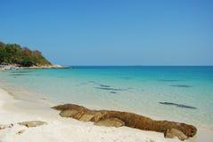 Praia no Koh Samet Imagens de Stock Royalty Free