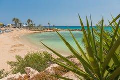 Praia no mar Fotografia de Stock Royalty Free