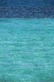 Praia no mar do Cararibe foto de stock royalty free