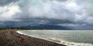 Praia no Mar Negro Imagens de Stock Royalty Free