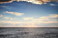 Praia no Mar Negro Fotografia de Stock Royalty Free
