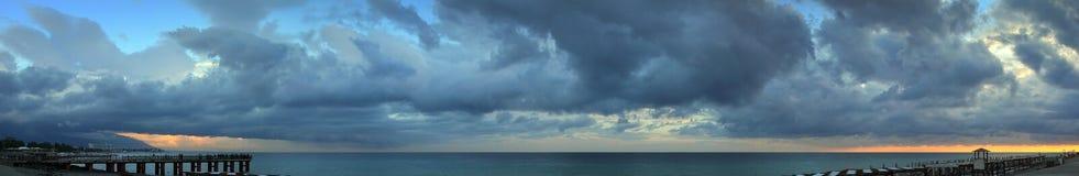 Praia no Mar Negro Foto de Stock Royalty Free
