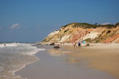 Praia no Martha's Vineyard Foto de Stock