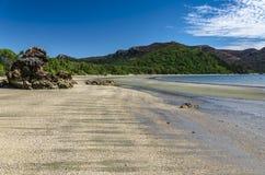 Praia no parque nacional de Hillsborough do cabo, Austrália Imagens de Stock Royalty Free