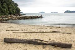 Praia no Sao Sebastiao Foto de Stock Royalty Free