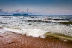 Praia no sul de Na Kluea Imagens de Stock