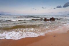 Praia no sul de Na Kluea Foto de Stock