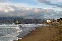 Praia norte imagem de stock