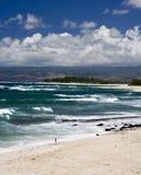 Praia norte da costa H17 Foto de Stock Royalty Free