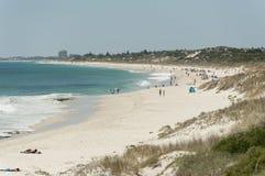 Praia norte de Cottesloe, Perth, Austrália Ocidental Imagem de Stock Royalty Free