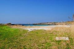 Praia norueguesa Foto de Stock
