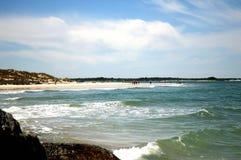 Praia nova de Smyrna Imagens de Stock
