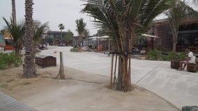 A praia nova e o entretenimento espaçam o vídeo da metragem do estoque de Mer do La filme