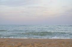 Praia o Mar Negro Imagem de Stock
