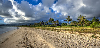 Praia Oahu Havaí de Kailua Imagens de Stock