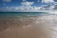 Praia Oahu Havaí de Kailua Foto de Stock