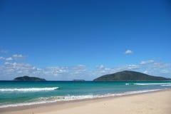 Praia pacífica Fotografia de Stock