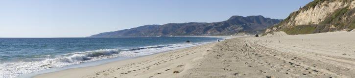 Praia panorâmico Fotografia de Stock