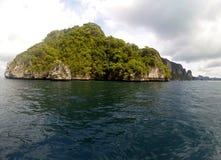 Praia panorâmico Thailland fotos de stock