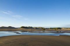 Praia para o sul em Atlântico Imagem de Stock Royalty Free