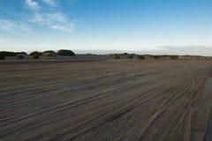 Praia para o sul em Atlântico Fotos de Stock