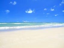 Praia perfeita Imagem de Stock Royalty Free