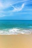 Praia perfeita Fotografia de Stock