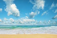 Praia perfeita fotografia de stock royalty free