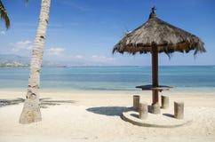 Praia perto de dili Timor Oriental Fotos de Stock Royalty Free